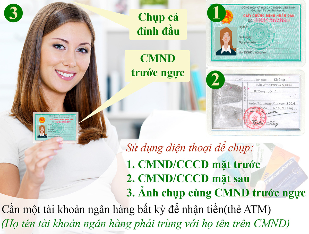 Điều kiện vay tiền bằng CMND
