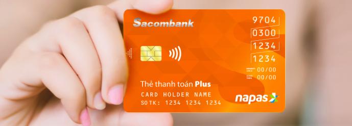 Thẻ ATM ngân hàng Sacombank