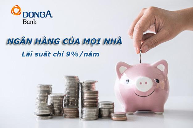 Hướng dẫn vay tiền ngân hàng Đông Á 5/2021