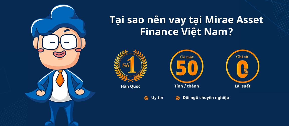 Hướng dẫn vay tiền Mirae Asset trong ngày